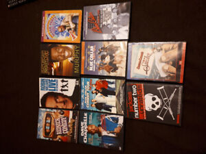 10 comedy dvds