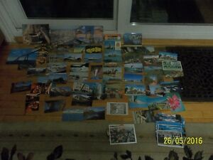 Over 100 Vintage Postcards-Some with stamps-LOOK