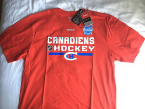 Montreal Canadiens Winter Classic shirt new with tags