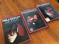 Millenium Trilogie de film (DVD)