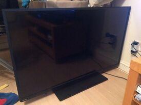 "Toshiba 48"" broken tv"