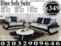 Itailan Cord Fabric Corner Sofa Suite 3 2 seat crushed velvet left right available Tucson
