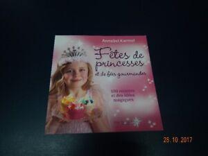 livre Fêtes de princesses et de fées gourmandes