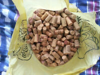 HUGE Bag Wine Corks Real & Synthetic GR8 4 Arts & Crafts