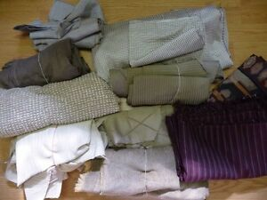 FABRIC grouping- upholstery and decorating . DWS. Sarnia Sarnia Area image 1