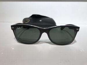 New Rayban Newfayfarer sunglasses Black
