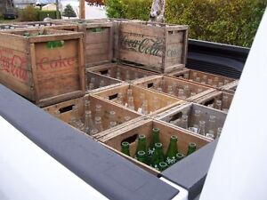 Amazing Contents of old Store Coca Cola Crates & Bottles  ++++++