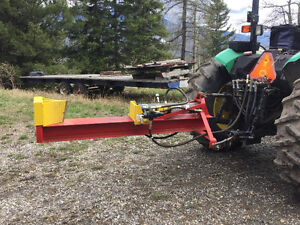 Industrial size twenty ton wood splitter