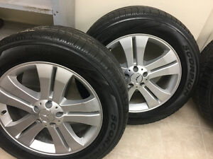 Mercedes gl winter tires buy or sell used or new car for Mercedes benz winter tires