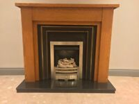 Fire place with lovely gas fire 🔥 in great condition