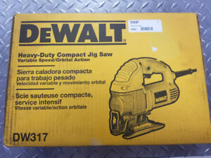 DeWalt Compact Jig Saw (Brand New)