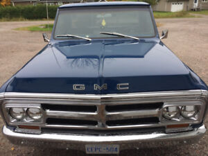 1972 gmc short box step side. (RARE) $28.000