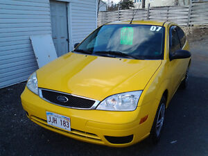 2007 Ford Focus ZX3 SE Coupe (2 door)