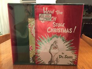 DR. SEUSS boxed Christmas exclusive gift set NEW