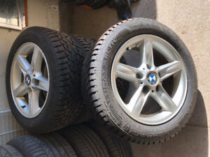 BMW winter tires and rims 205/55/R16