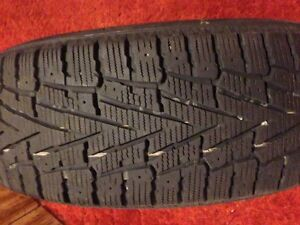 2 Winter tires for sale West Island Greater Montréal image 1