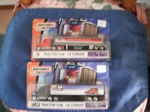 Matchbox - Two 2006 Tractor Cab Convoys (Gas and Land Rover)