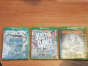Xbox one games still sealed