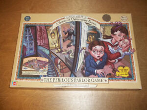 The Perilous parlor game- ages 8 + 2 to 4 players