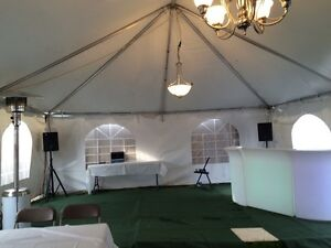 GTA tent rental and services