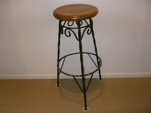 Vintage Industrial Steel Stool(very nice and solid condition)