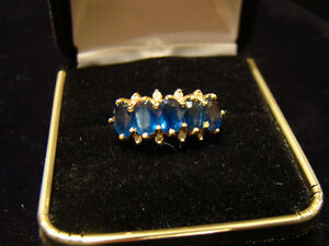 2.20ctw Sapphire 14k Gold Ring **SALE 40% OFF**