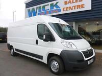 2012 Citroen RELAY 35 L3H2 LWB SHR HDI Van *LOW MILES* Manual Large Van