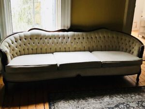 Beautiful Victorian Style Couch and Chair