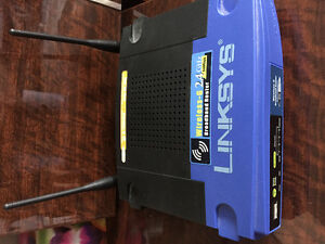 Router Linksys Wireless-G 2.4 GHz