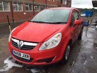 Bargain Vauxhall corsa life, 1.0 petrol, full years MOT good miles, cheap tax