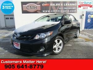 2013 Toyota Corolla S  MANUAL, POWER GROUP, SPOILER, ALLOYS
