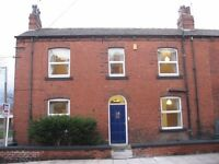 One furnished room to let in this modern shared house only 5 minutes' walk from Armley Town Street.