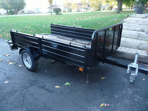 UTILITY TRAILER ALL METAL CONSTRUCTION( TILT  FEATURE)