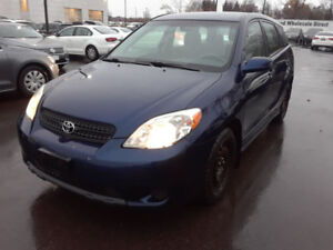 CERTIFIED - 2008 Toyota Matrix XR Wagon