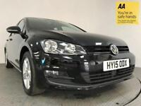 2015 15 VOLKSWAGEN GOLF 1.4 MATCH TSI BLUEMOTION TECHNOLOGY DSG 5D AUTO 120 BHP