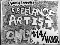 FREELANCE ARTIST AVAILABLE! (DRAWING & ANIMATION!)
