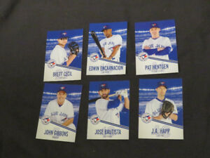 Blue Jays Swing Into Summer 2012  collectible BASEBALL CARDS