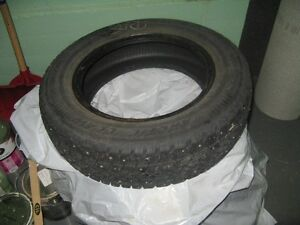 4 Studed snow tires for sale (New) St. John's Newfoundland image 1