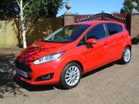 2014 14 Reg Ford Fiesta 1.0 ( 100ps ) EcoBoost ( s/s ) Titanium X