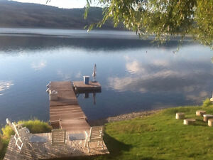 Waterfront 3 bedroom furnished cabin, Okanagan Lake