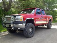 "2002 GMC Sierra 2500 SLE Duramax ""low kms"""