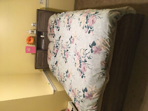 Bed and mattress for sale PRICE DROP