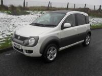 Fiat Panda 1.3 Multijet 16v 4x4 Cross Diesel 2010 MOT 12/8/18 Alloys
