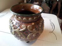 Ceramic Decorative Flower Pot – Made in Italy, Beautiful Colours