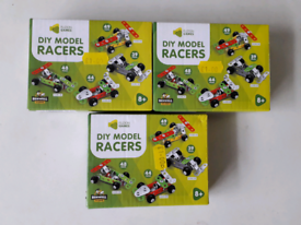 3 DIY MODEL RACERS