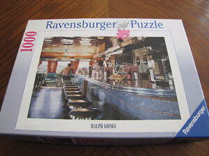 Casse-Tête Puzzle Ravensburger 1000 mrcx Ralph Goings Le Bar