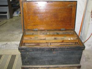 Antique Carpenters Tool Chest