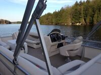 Princecraft Pontoon Boat 23' and Excaliber trailer