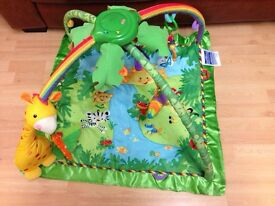 Fisher price musical baby gym