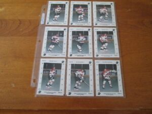 1992 QUEBEC PEE WEE PRO QUINTE COMPLETED SET 17 MATT  COOKE